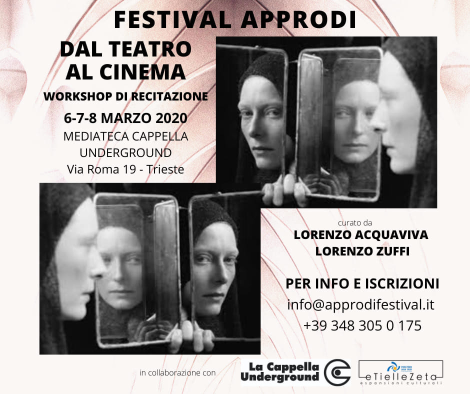 DAL TEATRO AL CINEMA WORKSHOP DI RECITAZIONE – Sospeso –