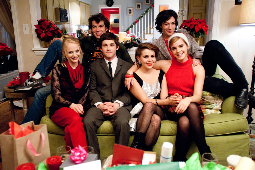 (L to R) ERIN WILHELMI, ADAM HAGENBUCH, LOGAN LERMAN, MAE WHITMAN, EZRA MILLER and EMMA WATSON star in THE PERKS OF BEING A WALLFLOWER    Ph: John Bramley  © 2011 Summit Entertainment, LLC.  All rights reserved.