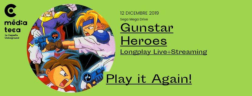 PLAY IT AGAIN! – GUNSTAR HEROES