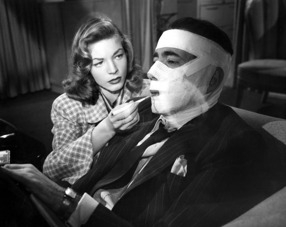 DARK PASSAGE, Lauren Bacall, Humphrey Bogart, 1947