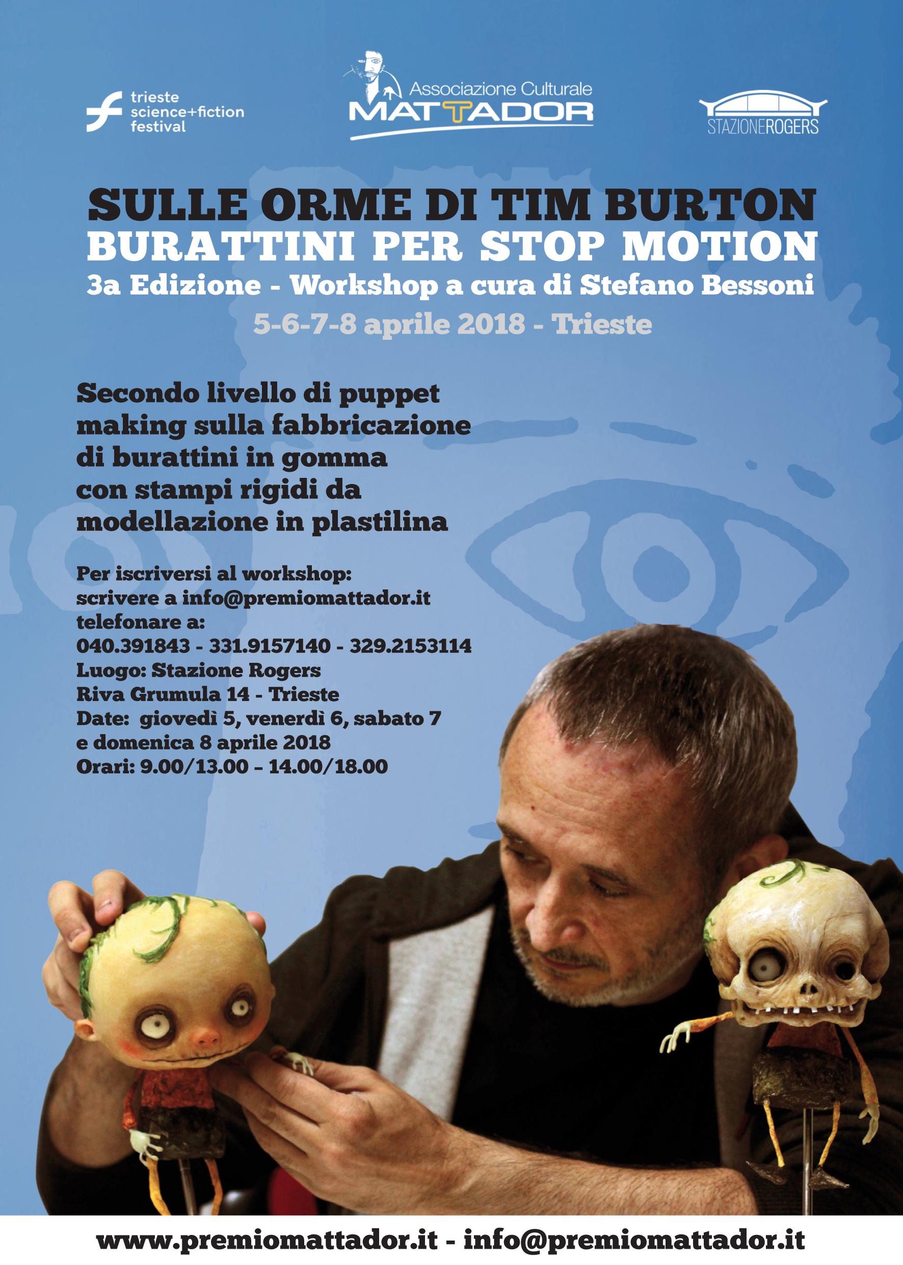 Sulle Orme Di Tim Burton – Burattini E Stop-motion