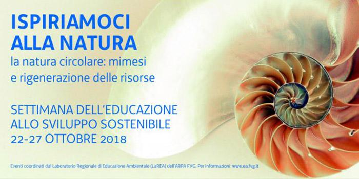 Settimana Dell'Educazione Allo Sviluppo Sostenibile 2018