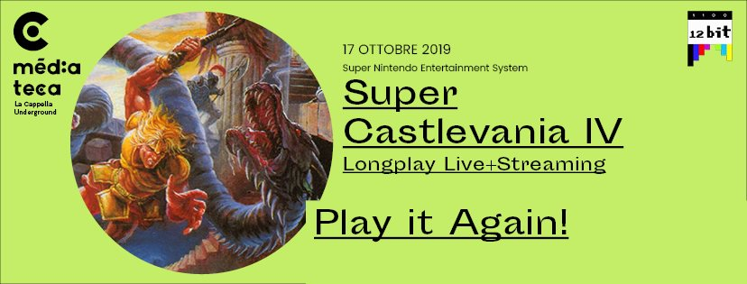 PLAY IT AGAIN! – SUPER CASTELVANIA IV